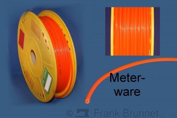 Pneumatikschlauch-orange-PU-1m-Laenge-4mm-innen-6-mm-aussen