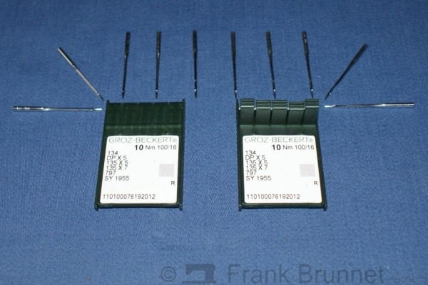 30-Stueck-Naehmaschinennadel-System-134-R-Staerke-100-Hochwertige-Groz-Beckert-Naehmaschinennadel