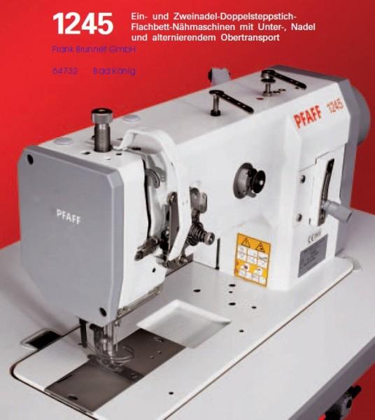 Pfaff Industrial 1245 Ledernaehmaschine 220 V-Motor