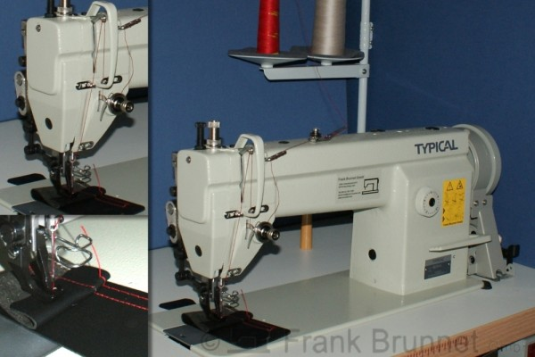 Industrienähmaschine 6-6 einfache Polstermaschine Ledermaschine 220 V sofort startklar
