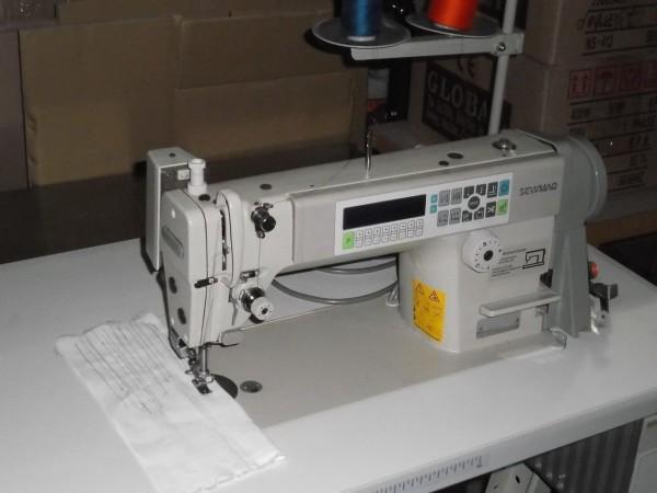 Industrienähmaschine Sw 755 Fadenabschneider leiser 220 V Motor