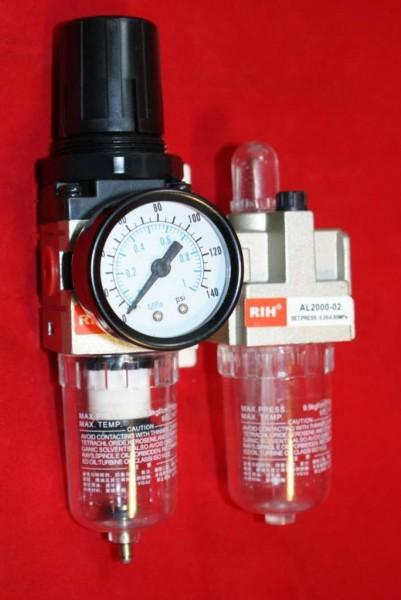 AC2010-02-Wartungseinheit-Filterregler-Oeler-Pneumatik