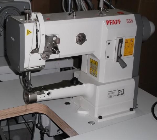 Pfaff-335-Freiarm-Leder-und-Polstermaschine-220-V-Kupplungsmotor